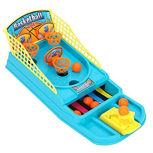 Fishlor Mini Tabletop Basketballspiel, Desktop Basketballspiel Desktop Basketball Schießspiel Pädagogisches Eltern-Kind Interaktives Kinderspielzeug(Mini)