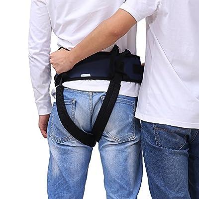 Transfer Belt Gait Walking Lift Assist Safety Medical Sling Bariatric Patient Health Care Nursing Belt for Wheelchair, Bed