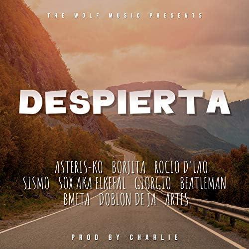 Asteris-Ko, Borjita, Rocío D'Lao, Sismo, Sox Aka Elkefal, Giorgio, Beatleman, Bmeta, Doblon De Ja & Artes