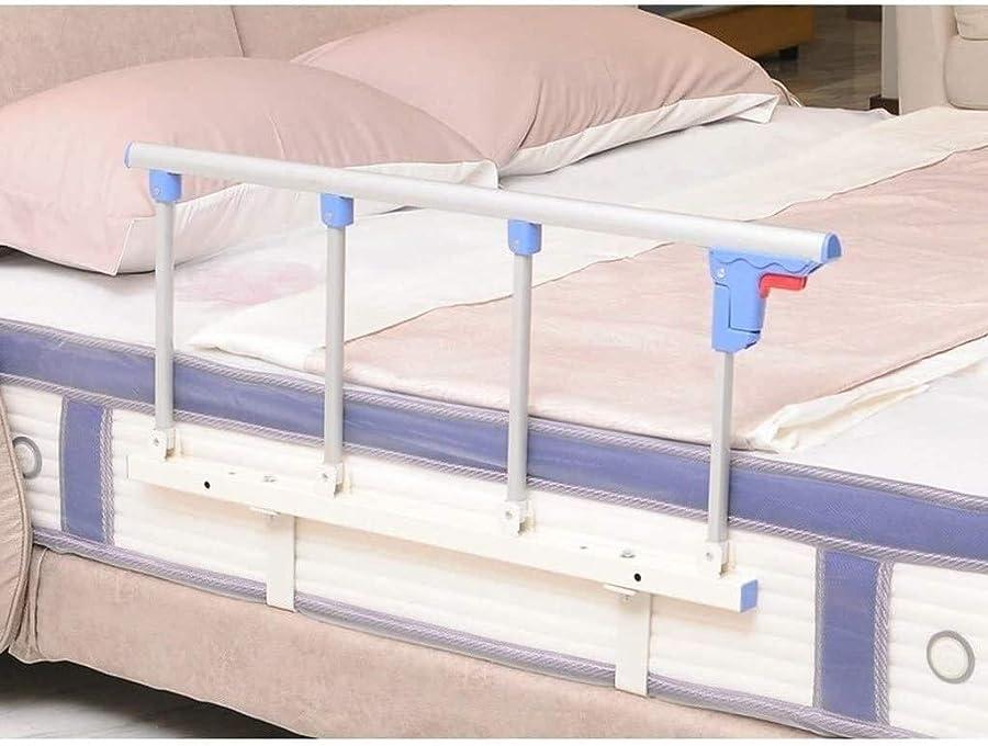 セイはさておき組立計算可能レールベッド、高齢者、高齢者のベッドグラブレールハンドルアルミ合金の非スリップベッドガードレール無効安全サイドガードのための最もベッドベッドレール (Color : C, Size : 120x40cm)
