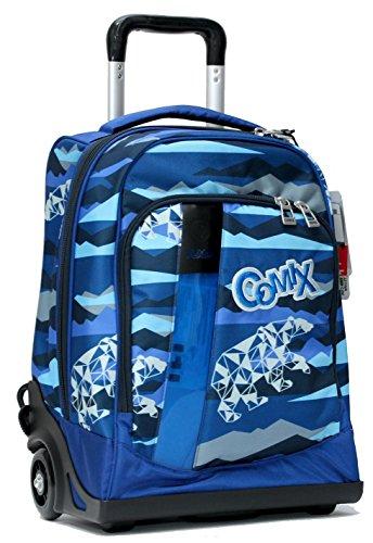 Zaino Trolley Premium Blu Flash Comix