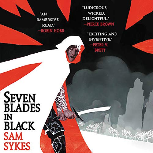 Seven Blades in Black  By  cover art