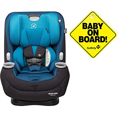 Review Of Maxi-Cosi Pria 3-in-1 Convertible Car Seat - Harbor Side with Baby on Board Sign