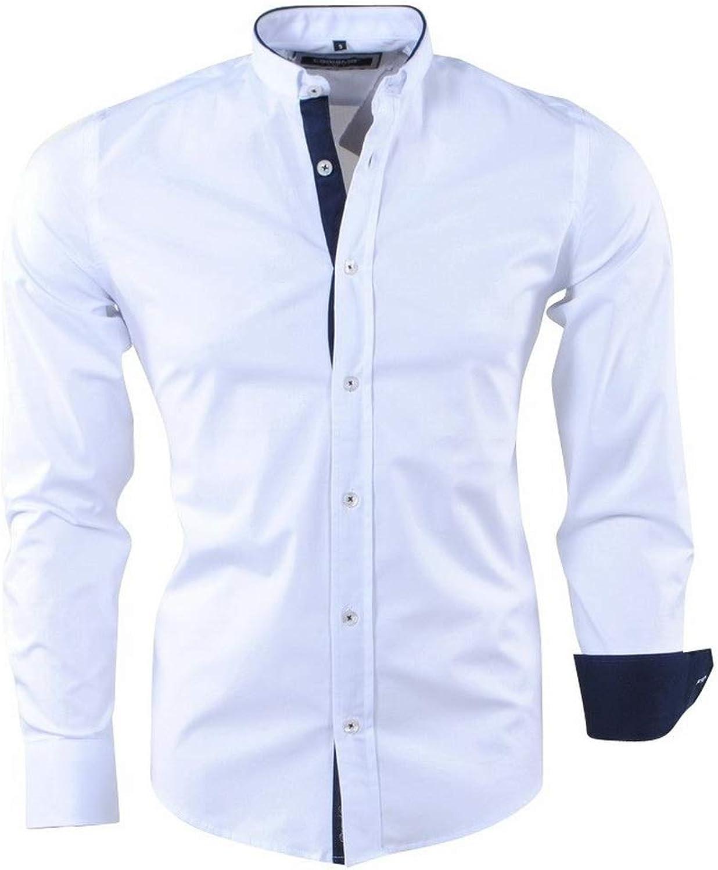 CARISMA - Trendy Trendy Trendy Italian Style Herren Hemd mit Design Kragen - 8386 - Weiß B07PMGVP9B  Bekannt für seine gute Qualität c29ccd