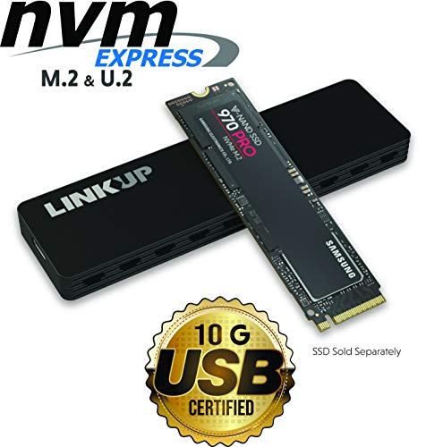 LINKUP - NVMe Enclosure M.2 SSD to USB C 10Gbps Adapter