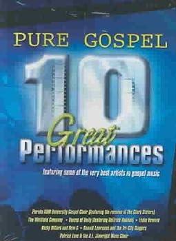 DVD Pure Gospel 10 Great Performances Book