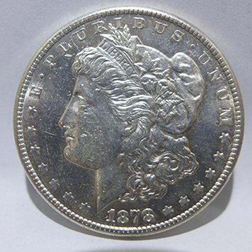 1878 S Morgan Silver Dollar Almost Uncirculated
