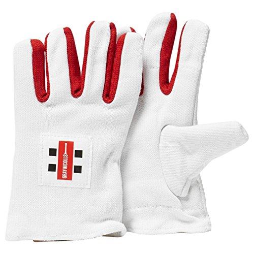 GRAY-NICOLLS Cotton Padded Wicket Keeping Inner Gloves, Mens