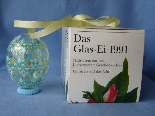 Hutschenreuther - Das Ei 1991 aus Glas / Kristall