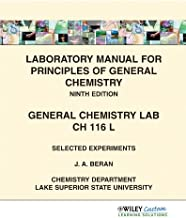 Best laboratory manual for principles of general chemistry 9th edition Reviews