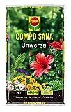 Compo Sana Universal 20 L [Tierra, Sustrato, Turba, Plantas-Calidad Garantizada-Ideal para Interior y Exterior-Contiene Agrosil y Perlita], 56x32x8 cm