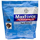 Bayer 4314688 Maxforce FC Roach Killer Small Bait Stations Insecticide, 72