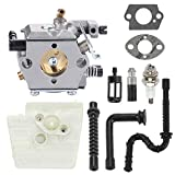 Highmoor WT-194 Carburetor Carb for Stihl 024 026 024AV 024S MS240 MS260 Chainsaws Parts Replace 1121 120 0611 with Tune Up Kit Air Filter Fuel Oil Line