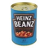 Scatola per cassaforte Safe soldi nascondiglio nella forma di lattina Heinz Beanz, 11x 7,5cm