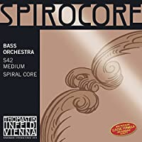 Thomastik-Infeld S35 Spirocore Double Bass String Single High C String 4/4 Size Steel Core Chrome Wound [並行輸入品]