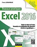 Travaux pratiques avec Excel 2016 - Saisie et mise en forme, formules et exploitation des données, courbes et graphiques...