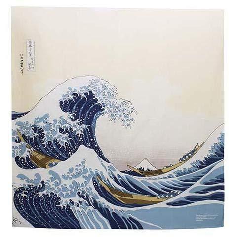 Japón no Yokan Furoshiki «La Gran Ola» Pañuelo Tradicional japonés para Envolver y Decorar (104 x 104 cm)