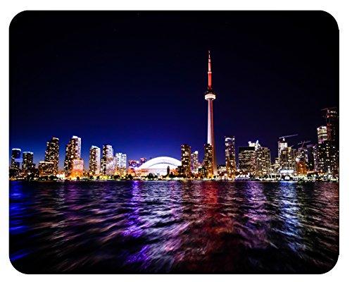 Mousepad Toronto Skyline Nacht