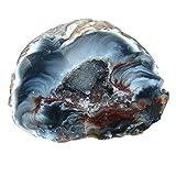 Achat Geode aufgeschnitten, poliert A* Qualität Größe *M* ca.40 - 50 mm