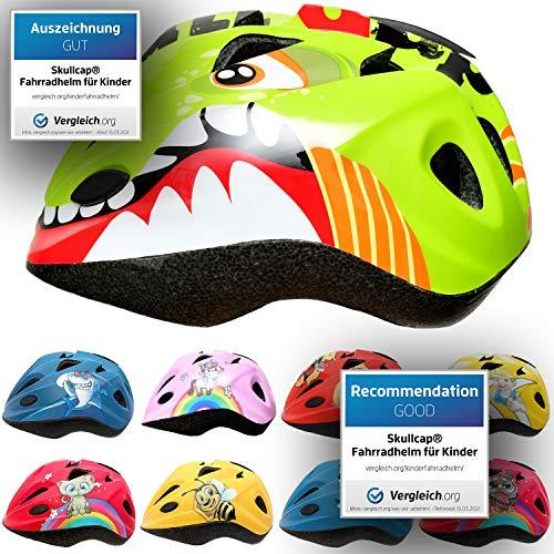 SkullCap® Casco Niño Bicicleta diseñado por los niños, Casco Bici Carretera Chico...
