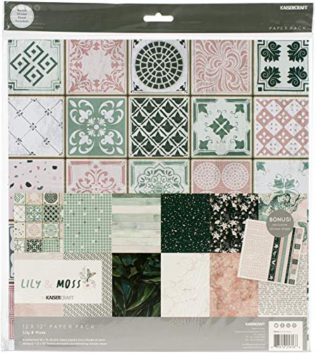KAISERCRAFT PTY LTD (3PL) Lily & Moos Papier 12 x 12 Stück
