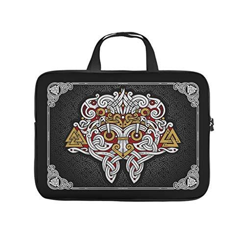 Laptop Shoulder Bag Viking odin Lightweight Laptop for Men white 15 zoll