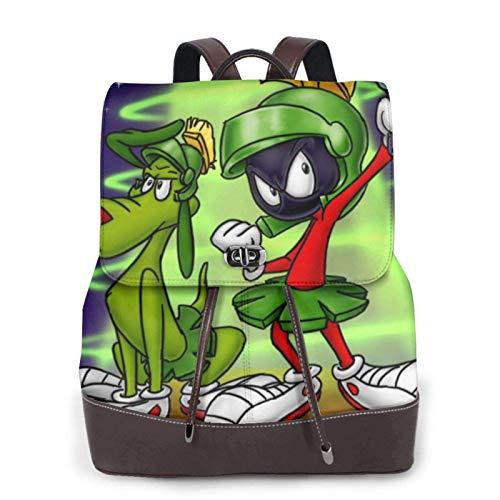 Marvin The Martian - Bapack de cuero para mujer, diseño de Bapack