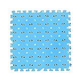 Fancy Citrouille 9pcs Mignon Chiens Imprimé imbriqués Tapis de Sol Puzzle Tapis de Jeu pour bébé Chambre d'enfant, 02
