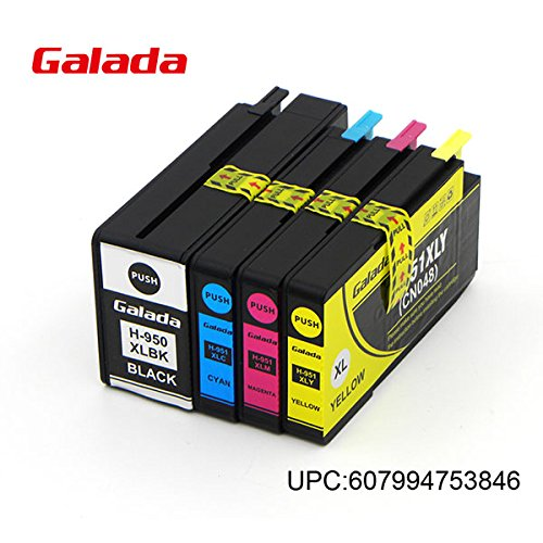 Galada 8Pack Compatible Ink Cartridge Replacement for HP 564 XL 4 Color,Compatible with Photosmart 5520 5510 6520 6510 7520 7510 7525 B8550 C6380 D7560 Premium C309A C410 Officejet 4620 (034)