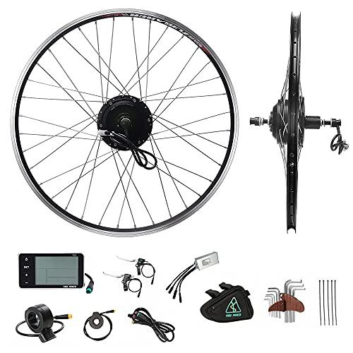 Yose Power 350w 36v E-Bike Conversion Kit rear hub motor for 28″ wheel with cassette freehub