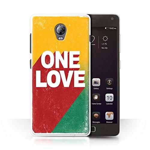 Stuff4 Hülle/Hülle für Lenovo Vibe P1 / One Love Poster Muster/Rasta Reggae Kunst Kollektion