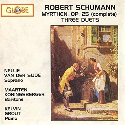 Nellie van der Sijde, Maarten Koningsberger & Kelvin Grout
