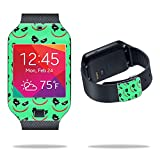 MightySkins Skin Compatible with Samsung Galaxy Gear 2 Neo Smart Watch Cover Skins Sticker Watch Why So Serious