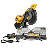 DEWALT DHS716AB FLEXVOLT 120V MAX 12' Fixed Miter Saw with Adapter (Tool/Adapter Only)
