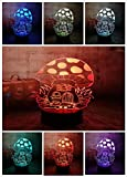 Mushroom Decor - Multi Colour Changing LED Mushroom Night Light...