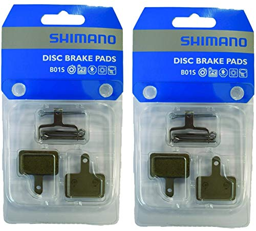 Shimano B01S Original - Pastillas de freno para bicicleta (2 unidades)