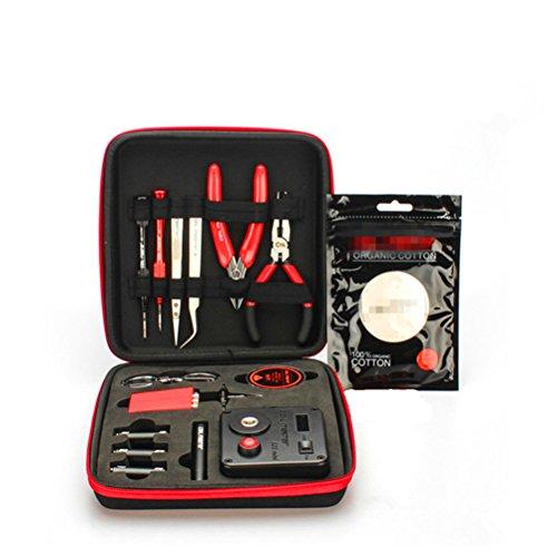 WYCY Coil Master Kit di Utensili a Spirale 13 in 1 Kit di Strumenti Vape Autentico con l'ultima Bobina Set di Strumenti fai da te (V3)