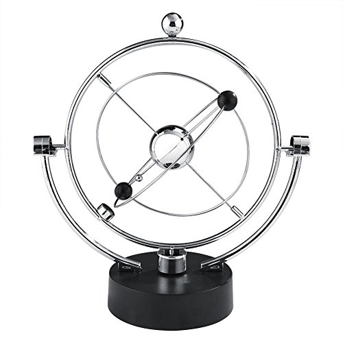 Zerodis Bola de Equilibrio Cradle de Newton, Juguete de Escritorio de Bola de péndulo Divertido para Decoración de Oficina (G)