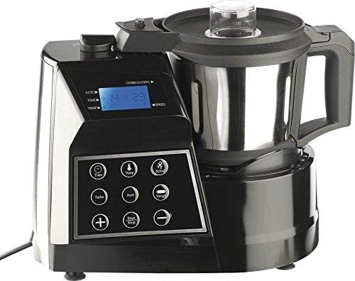 Rosenstein & Söhne Thermo Küchenmaschine: Thermo-Koch- & Mixmaschine KM-2513 V3 1300 W (Küchenmaschine mit Kochfunktion)