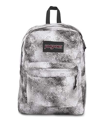 JanSport Superbreak Plus Backpack - School, Work, Travel, or Laptop Bookbag with Water Bottle Pocket, Lunar Scape