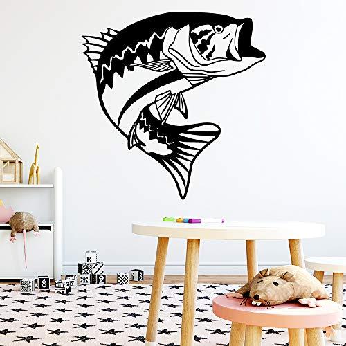 AGjDF Nette Fischwandaufkleber Hauptdekoration Mädchen Schlafzimmer Aufkleber Wohnzimmer Kinderzimmer Dekoration Wanddekoration28x28cm