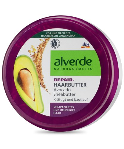 alverde Repair Haarbutter Sheabutter, 200 ml