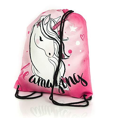 Diamond Unicorn Collection bolso de lazo de moda con unicornio/mochila escolar con unicornio/mochila rosa con un unicornio/ premium quality made in Europe 2018
