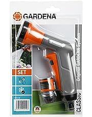 Gardena Set Contenido 54 x 18312 + 18213 Pistola Rociadora, Estándar, 10 x 10 x 10 cm