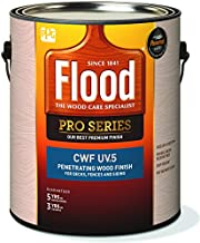 Flood CWF-UV 5 Matte Natural Water-Based Wood Finish 1 gal.