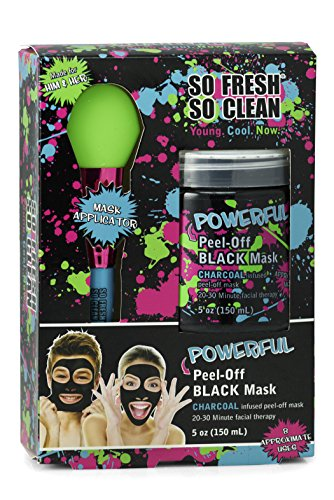 Powerful Peel-Off Black Mask Charcoal Infused
