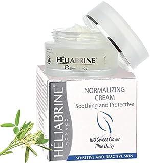 Heliabrine Normalizing Moisturizer Cream with Organic Sweet Clover 50ml. Best Anti Redness Cream.