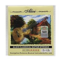 Alice A106クラシックギターストリングクリアナイロンギターストリング,A-5th