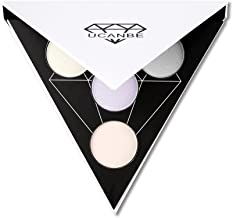 Triangle Highlighter Illuminating Contour Makeup Powder Palette Glow Kit (# 1)