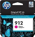HP 912, 3YL78AE, Cartuccia Originale Standard, 315 Pagine, Compatibile con Stampanti a Getto di Inchiostro OfficeJet Pro Serie 8010 e 8020, Magenta